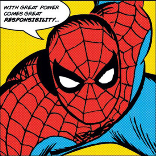 Spider-Man (With Great Power) by Marvel Comics
