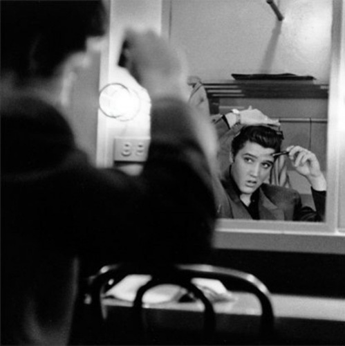 Elvis Presley (Mirror) by Anonymous