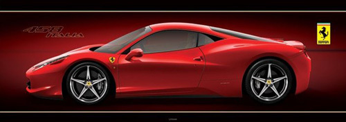 Ferrari (458 Italia) by Anonymous