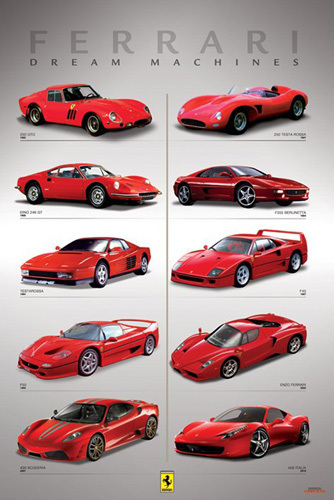 Ferrari (Dream Machines) by Anonymous