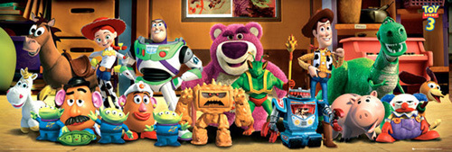 Toy Story 3 - Cast by Anonymous