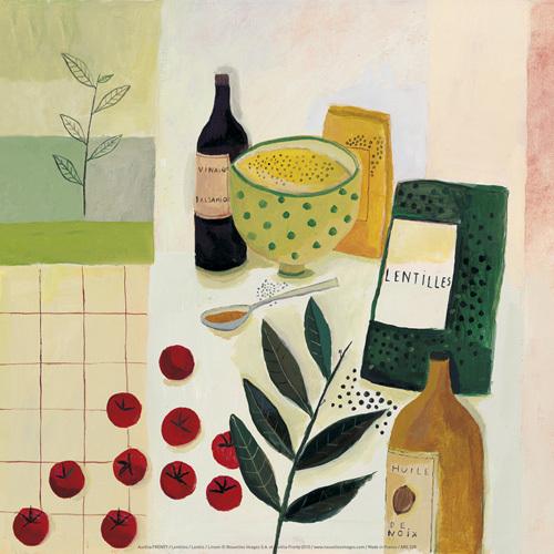 Lentilles by Aurélia Fronty