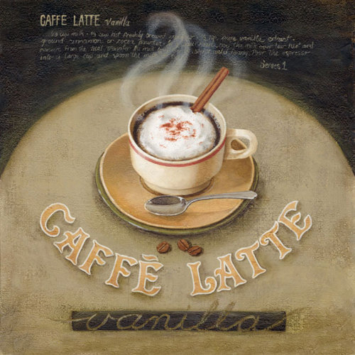 Cafe Latte by Lisa Audit
