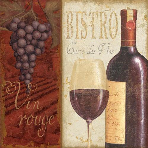 Wine List I by Daphne Brissonnet