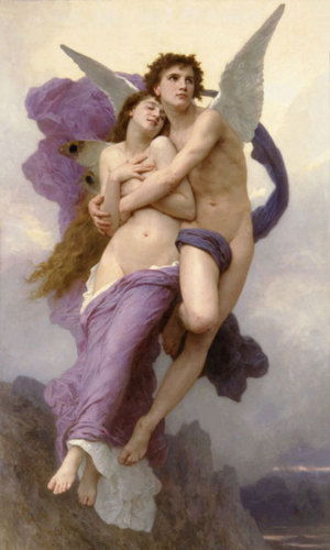 Ravishment of Psyche by Adolphe William Bouguereau