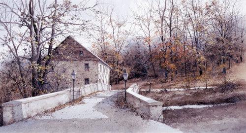 The Mill Bridge by Ray Hendershot