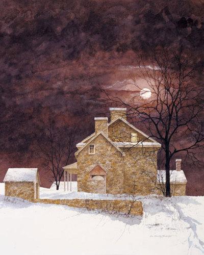 Rust Moon by Bradley Hendershot