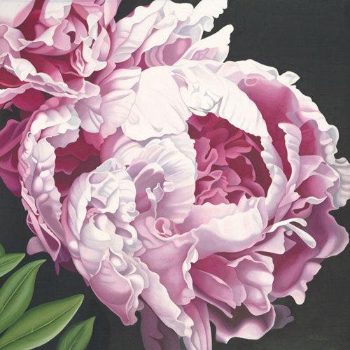 Peony II by Elizabeth Hellman