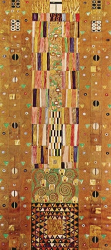 Pattern for the Stoclet Frieze, around 1905-06, End Wall by Gustav Klimt