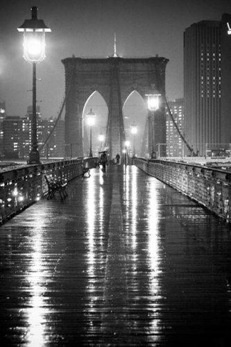 Brooklyn Bridge by Oleg Lugovskoy