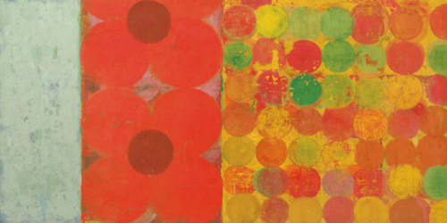 Flowers and Dots Nr.1 by Bill Mead