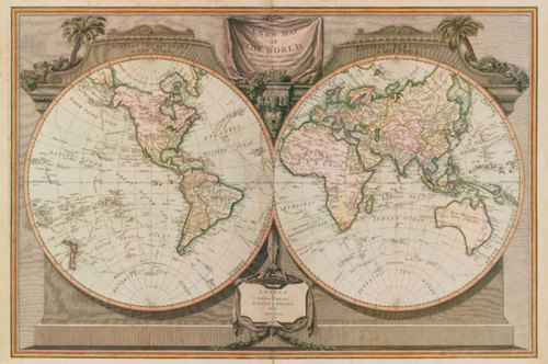 New Map of the World by Anonymous