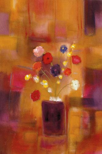 Welcoming Flowers II by Nancy Ortenstone