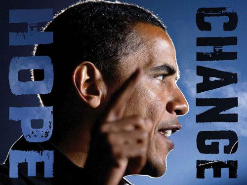 Barack Obama: Hope, Change by Celebrity Photo