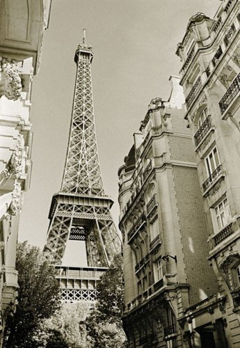 Eiffel Tower Street View Nr.1 by Christian Peacock
