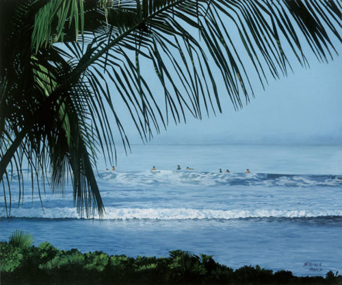 South Swell at Puamana by Stephen Reich