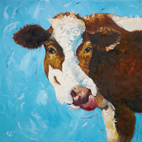 Cow Nr.303 by Roz