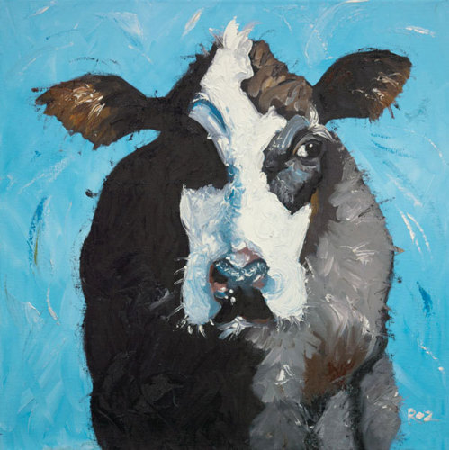 Cow Nr.302 by Roz