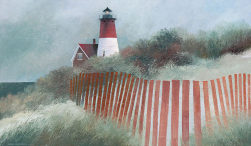 Old Nauset Light by Albert Swayhoover