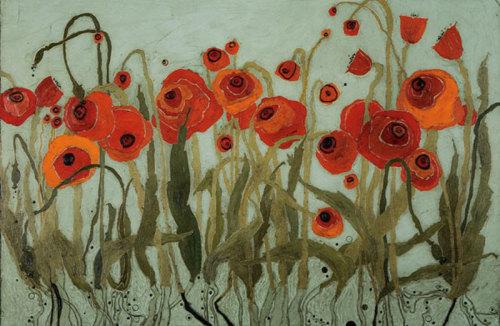 Poppyfield II by Karen Tusinski