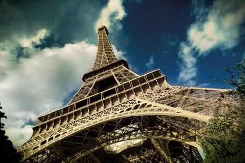 The Eiffel Tower (horizontal) by Verlijsdonk