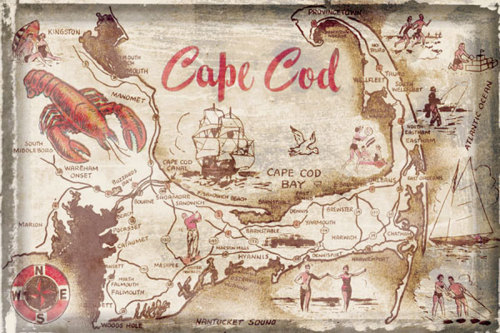 Cape Cod Holiday by Vintage Vacation
