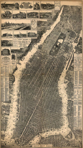 City of New York 1897 by Anonymous
