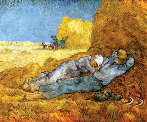 La Meridienne by Vincent Van Gogh
