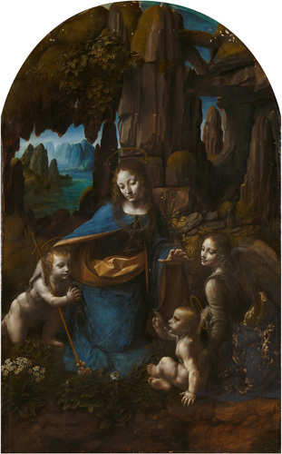 The Virgin of the Rocks by Leonardo da Vinci