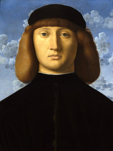 Portrait of a Young Man by Vincenzo Catena