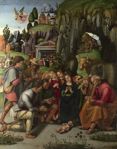 The Adoration of the Shepherds by Luca Signorelli