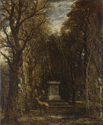 Cenotaph to the Memory of Sir Joshua Reynolds by John Constable