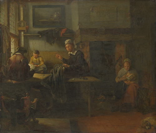 The Tailor by Quiringh Van Brekelenkam