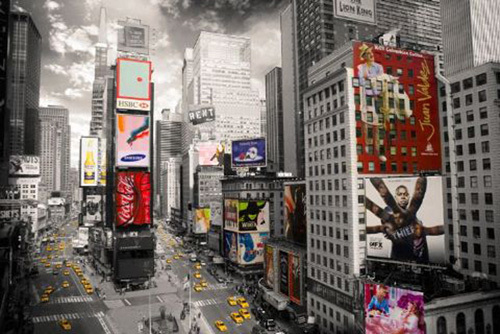 New York - Times Square 2 by Anonymous