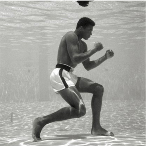 Muhammad Ali - Underwater by Anonymous