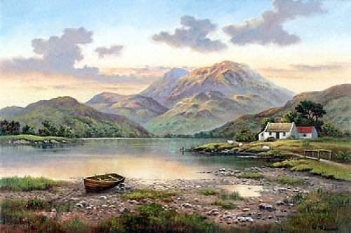 Mountain Loch by Thomas Cooper