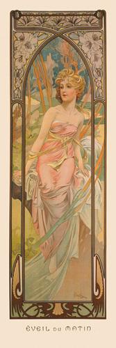 Eveil du Matin by Alphonse Mucha