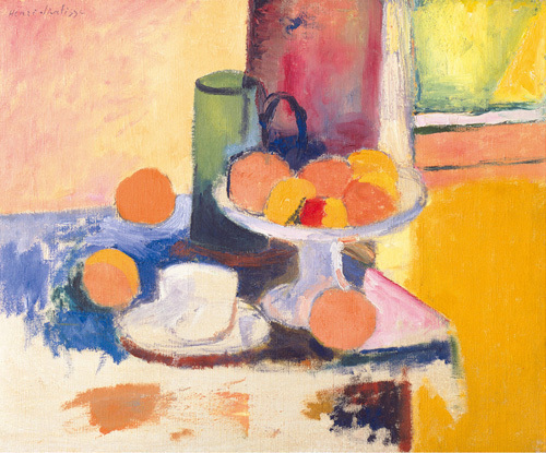 Still Life With Oranges by Henri Matisse