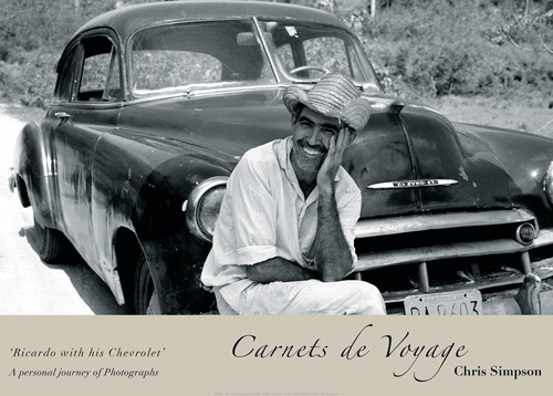 Ricardo with his Chevrolet by Chris Simpson