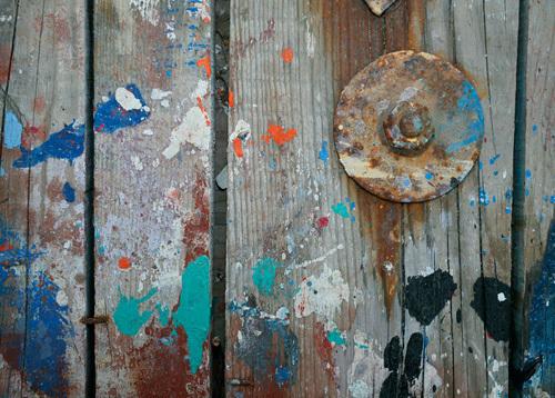 Aegean Brushstrokes V by Tony Koukos
