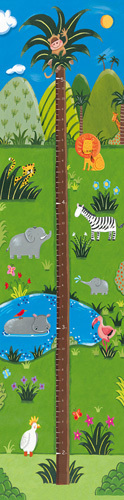 Jungle Growth Chart by Sophie Harding