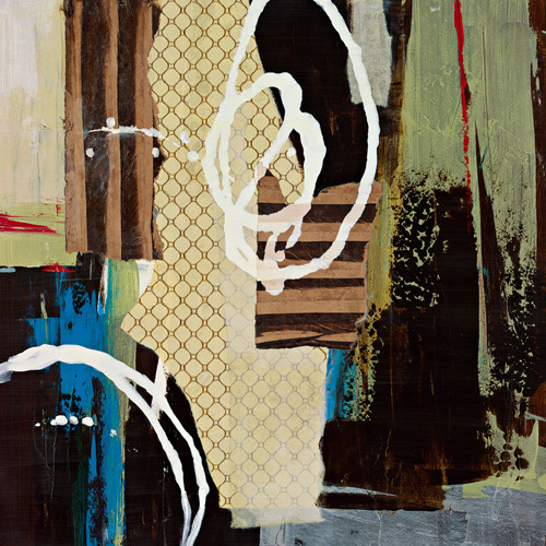 Abstract Collage IV by Bridges