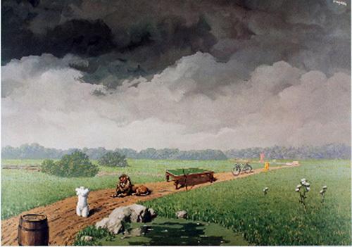 La Jeunesse Illustree by Rene Magritte