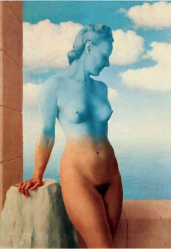 La magie noire by Rene Magritte
