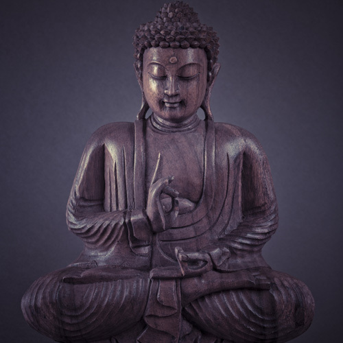 Buddha 16 by Assaf Frank