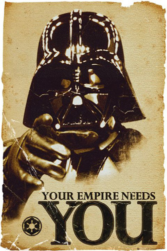 Star Wars - Your Empire Needs You by Anonymous