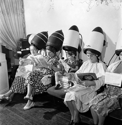 Hairdressers, 1952 by Mirrorpix