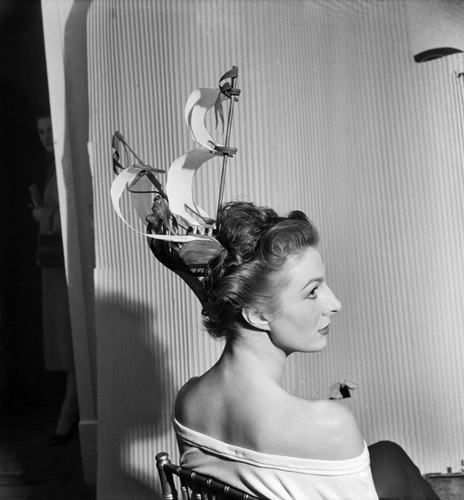 Galleon hair style, 1952 by Mirrorpix