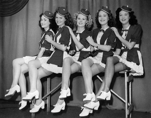 Dancers, 1947 by Mirrorpix