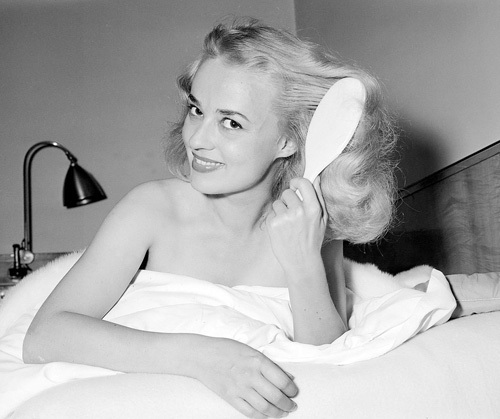 Jeanne Moreau, 1956 by Mirrorpix